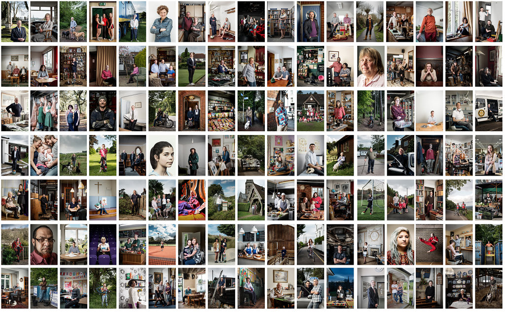 The Dorkinians Montage (119 portraits of 200 people)